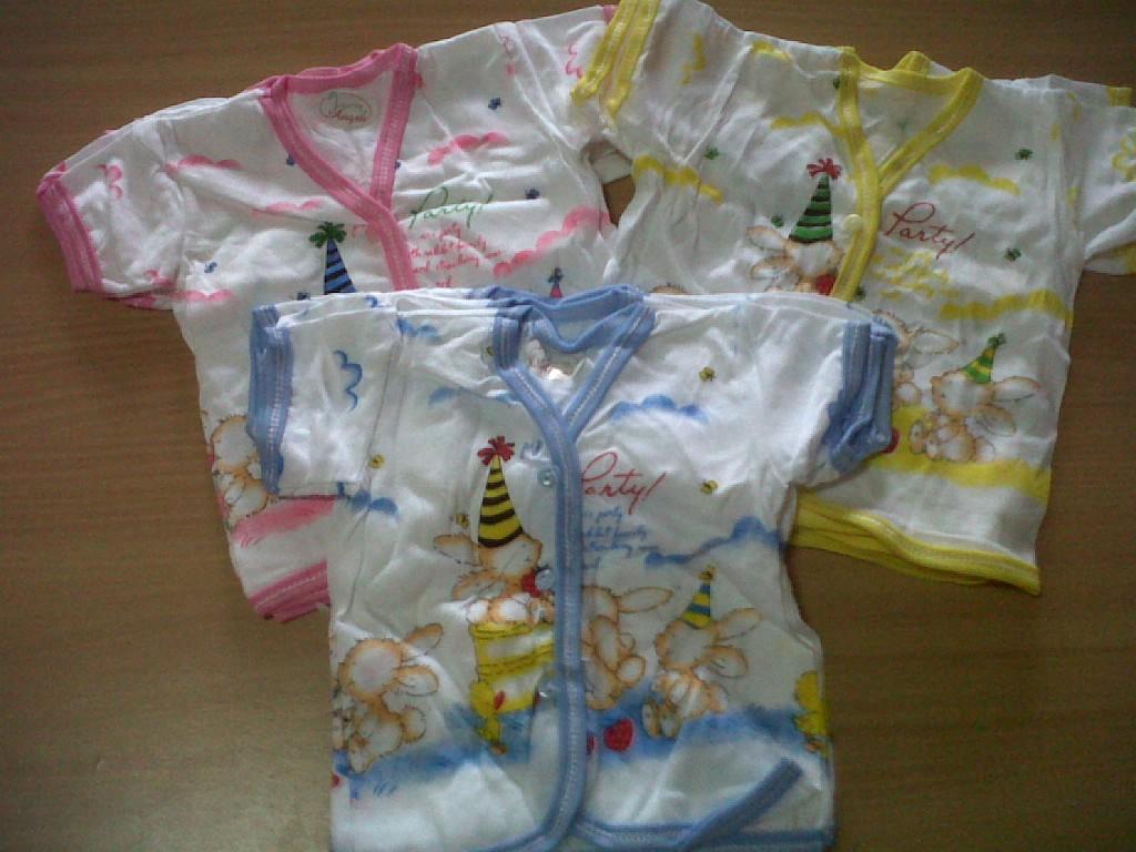 Koleksi Kami Katalog Baju Bayi Per Lusin Kaos Anak Tangan Pendek Baby Lengan Motif Party