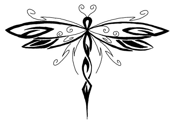 Dragonfly Tattoo Patterns 3