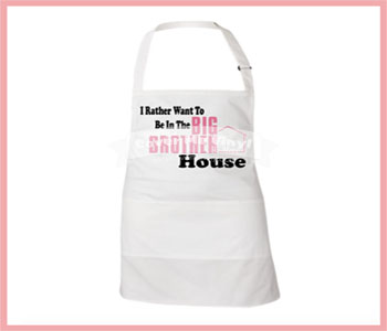 I Rather BB Apron