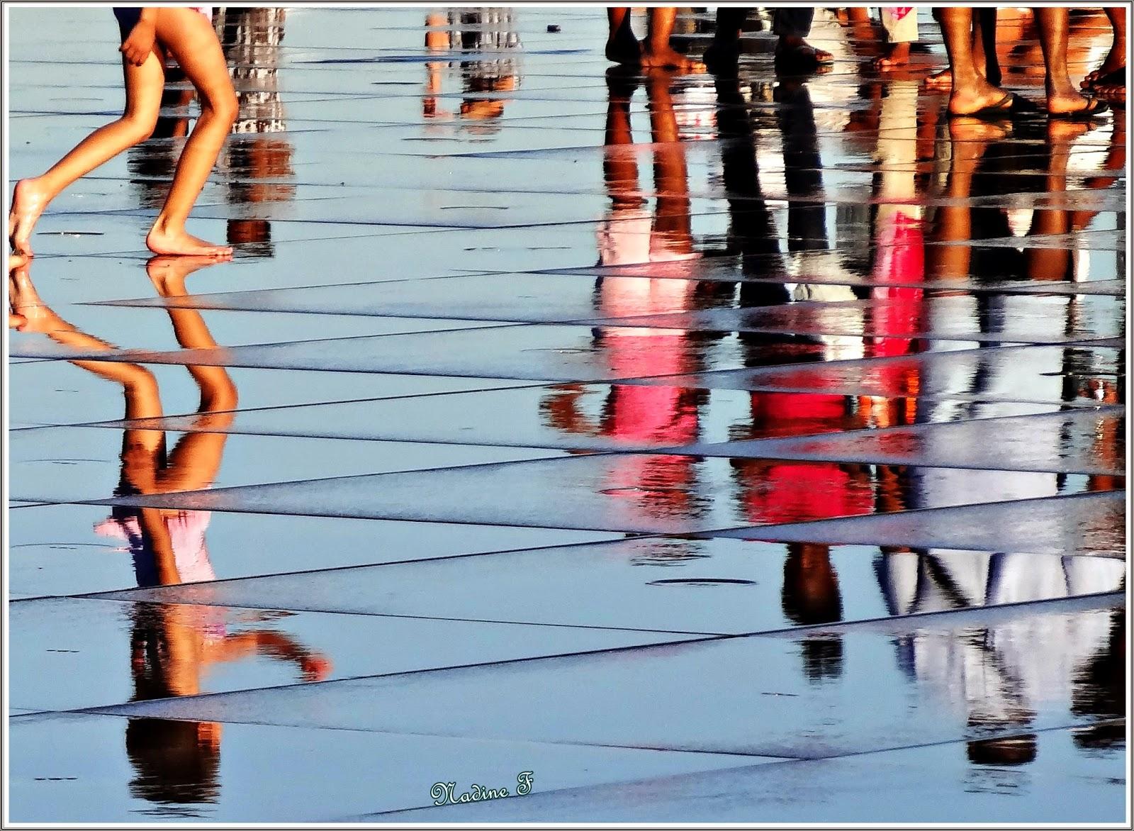 De Bonheur et de Belle Humeur - Miroir d'eau Bordeaux
