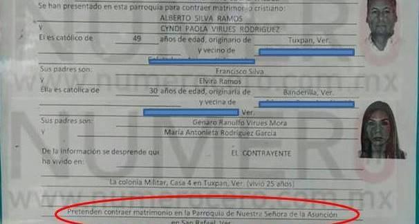EL AMOR VENCE TODA BARRERA.....SE NOS CASA EL 'CISNE'