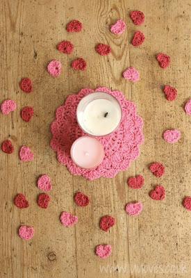 free crochet pattern confetti hearts