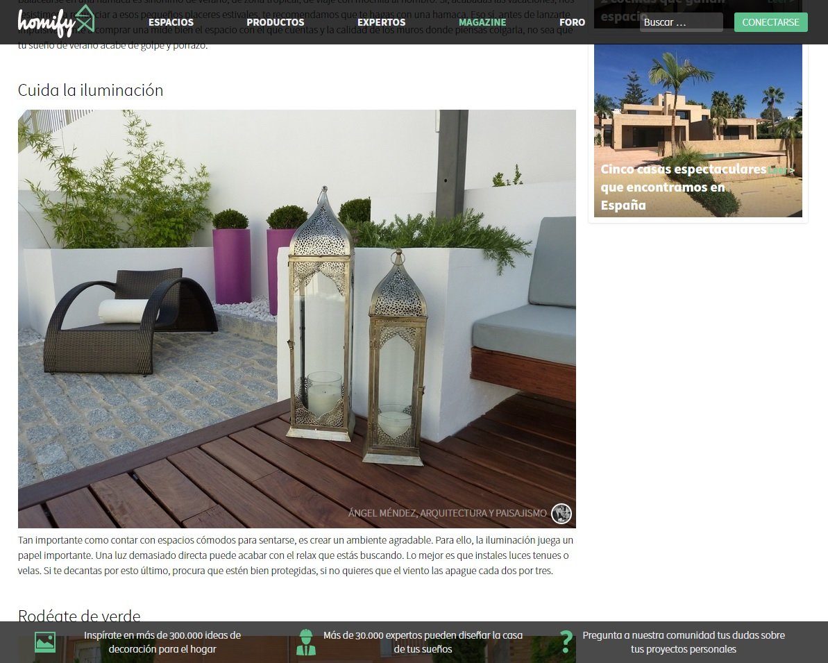 Publicaciones for Homify mexico