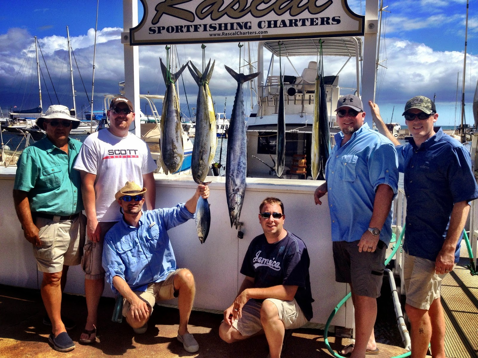 Maui fishing charters today 39 s fresh catch storm makes for Is fishing good today
