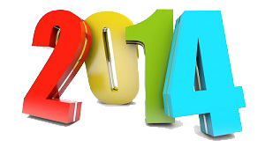 Happy New Year 2014 Theme