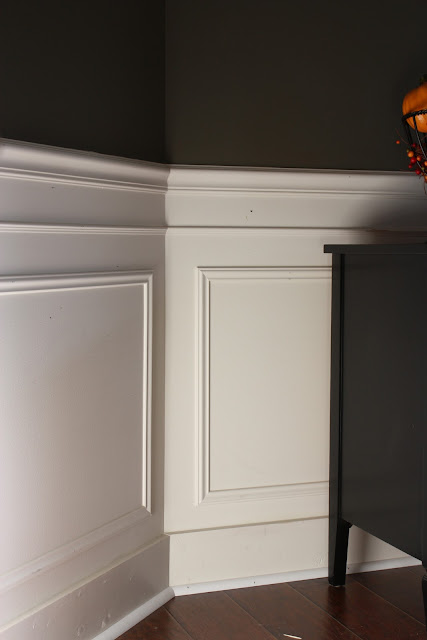 ... Picture Frame Molding. Basically You Add Boxes Of Trim To The Wall And  Then Paint It All Out In White Or Have White Boxes On A Colored Wall. Dining  Room ... Part 83