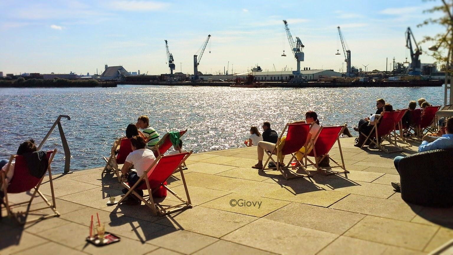Visitare il porto di Amburgo