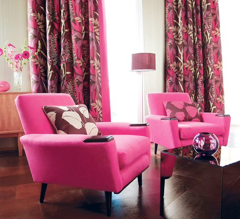 Future House Design: Modern Office Curtain Design