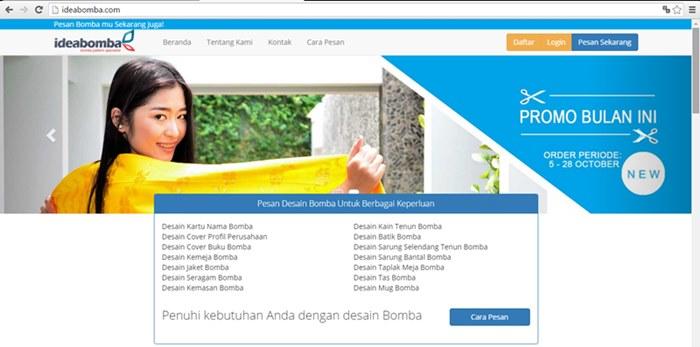 Pesan Batik Bomba
