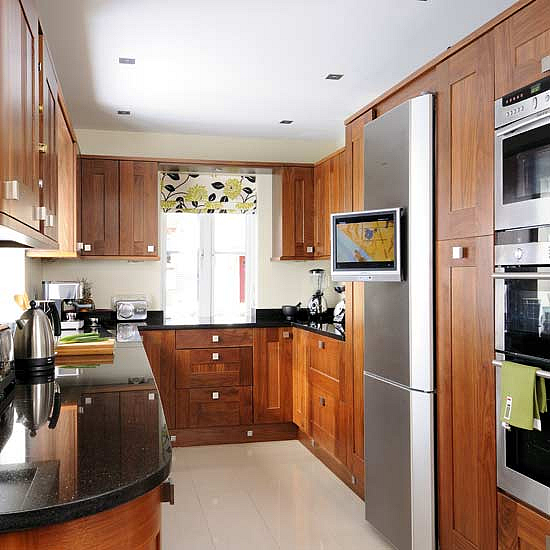 Modern Furniture: Kitchen Curtains Design 2011