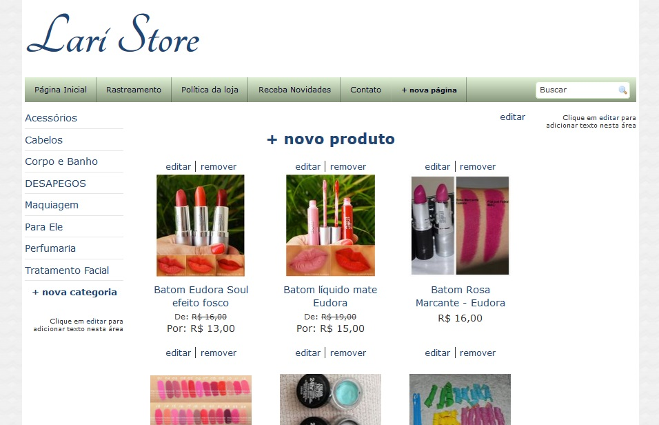 www.laristore.loja2.com.br