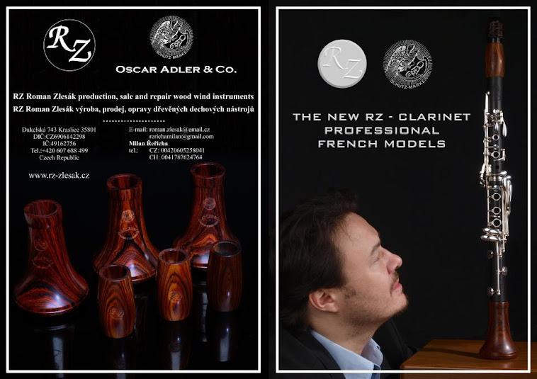 Clarinete Oscar Adler&co.