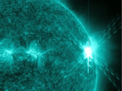 sun has largest eruption in four years