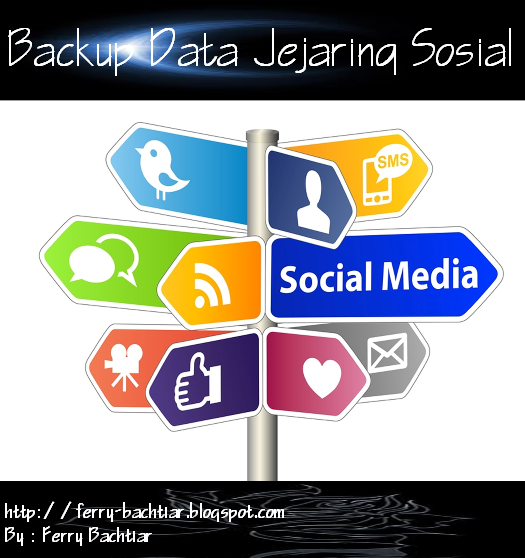 Backup data pada socialmedia