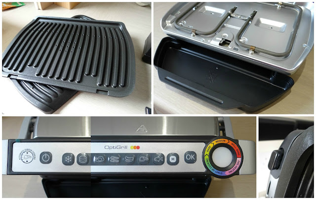 Tefal Optigrill, perfect steaks, indoor grill