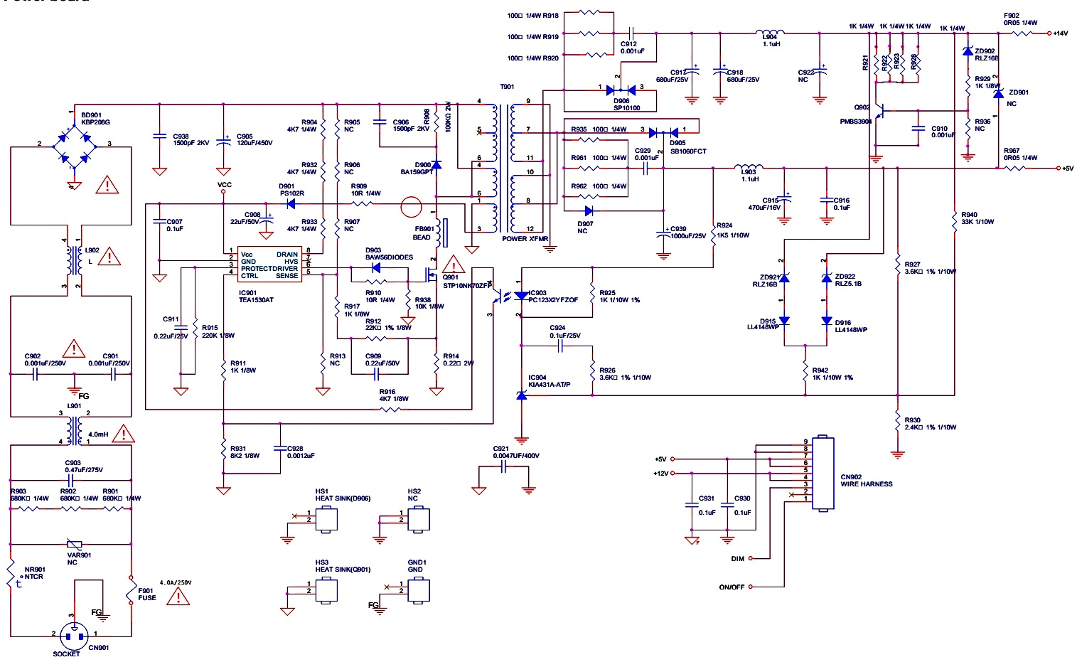 Lcd Monitor Schematic Diagram Wiring Library