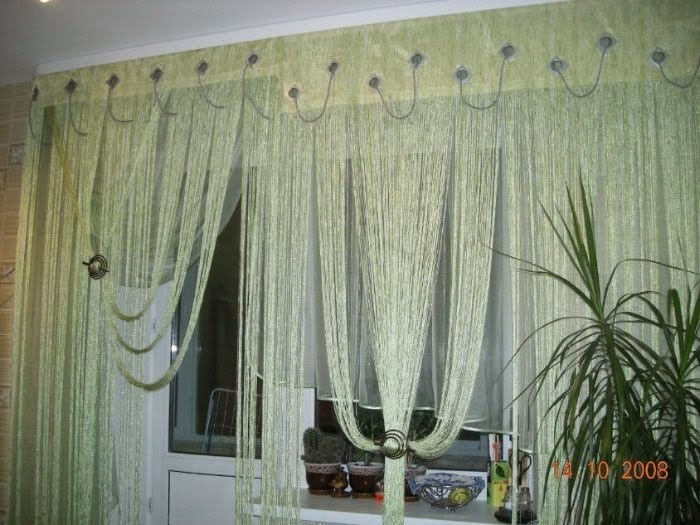 фото кисеи на окнах