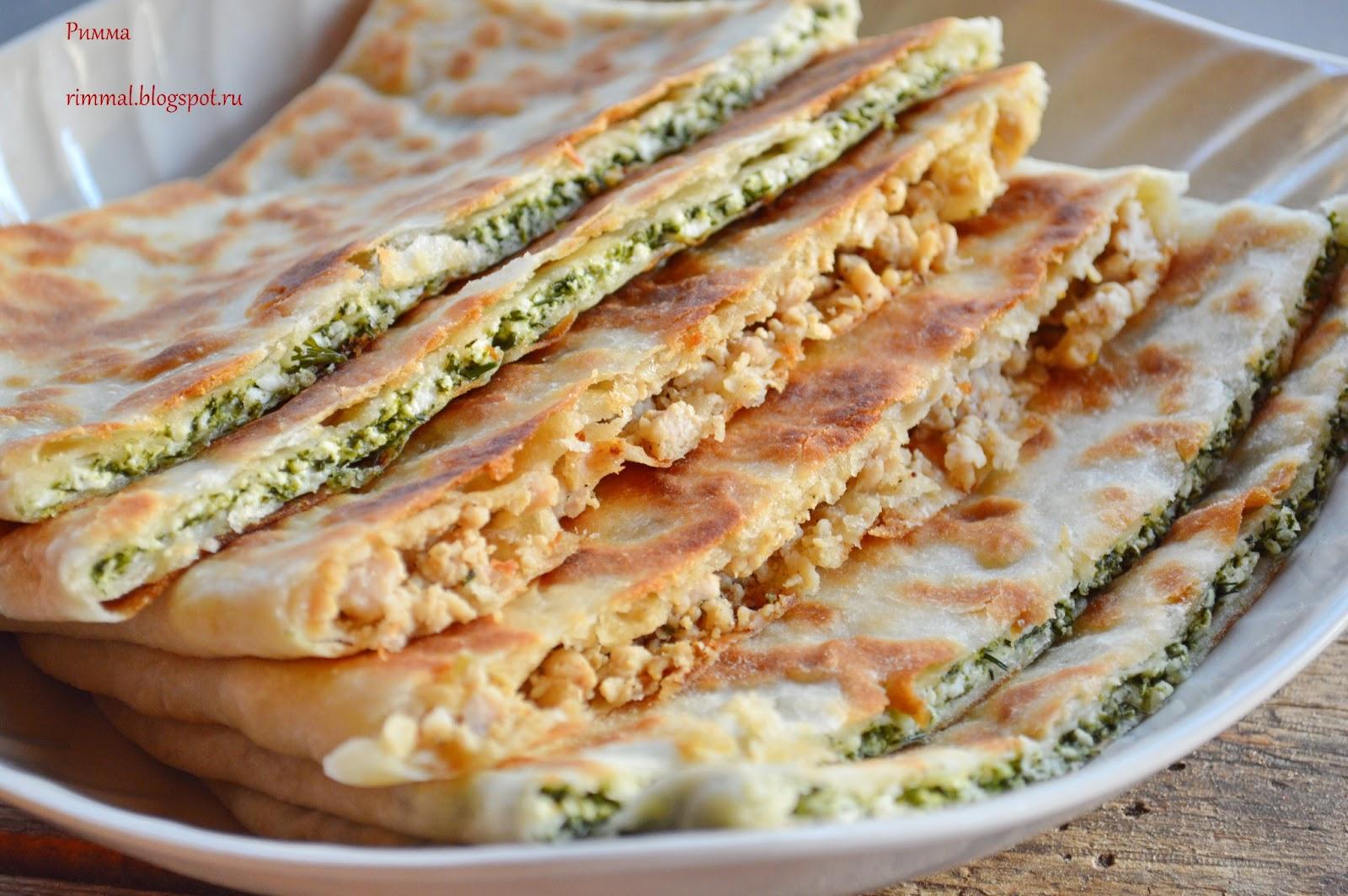 Турецкие блюда из лепёшек фото