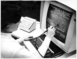 Hypertext Editing System. Original photo by Greg Lloyd