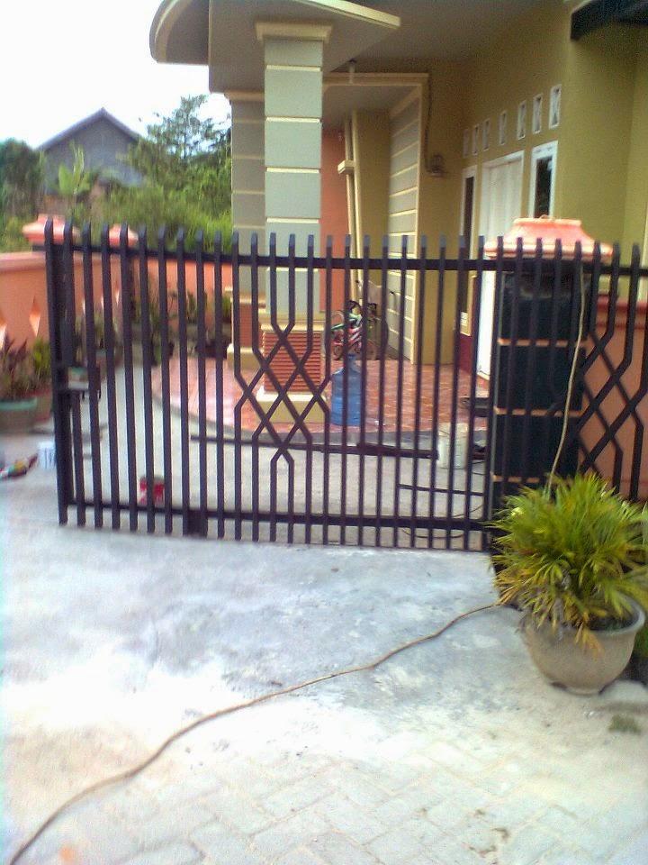 pagar rumah minimalis pagar besi