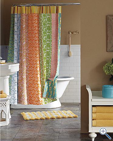 Gel Oh Homemade Shower Curtain