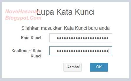 cara mengatasi masalah lupa kata kunci saat ingin login pada PUPNS BKN online 2015 3