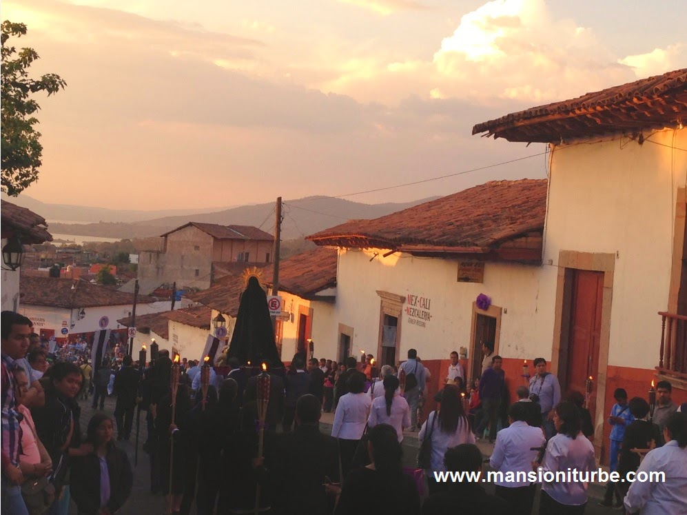 Semana Santa en Pátzcuaro Michoacán