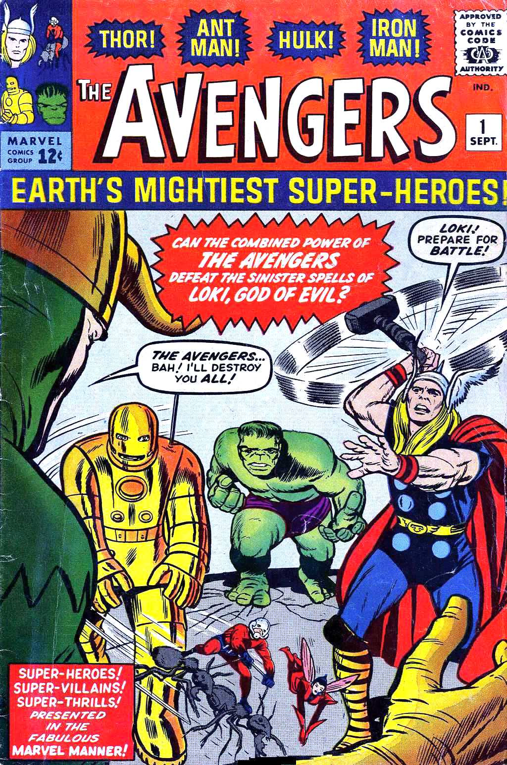 Early marvel history consider our fight begun - Heros avengers ...