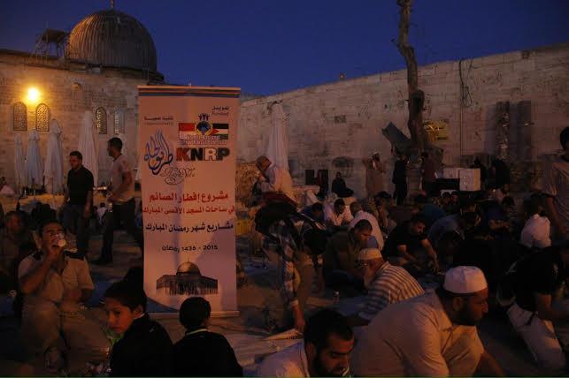 Warga Palestina di Yerusalem Tolak Makanan Ramadan dari UEA