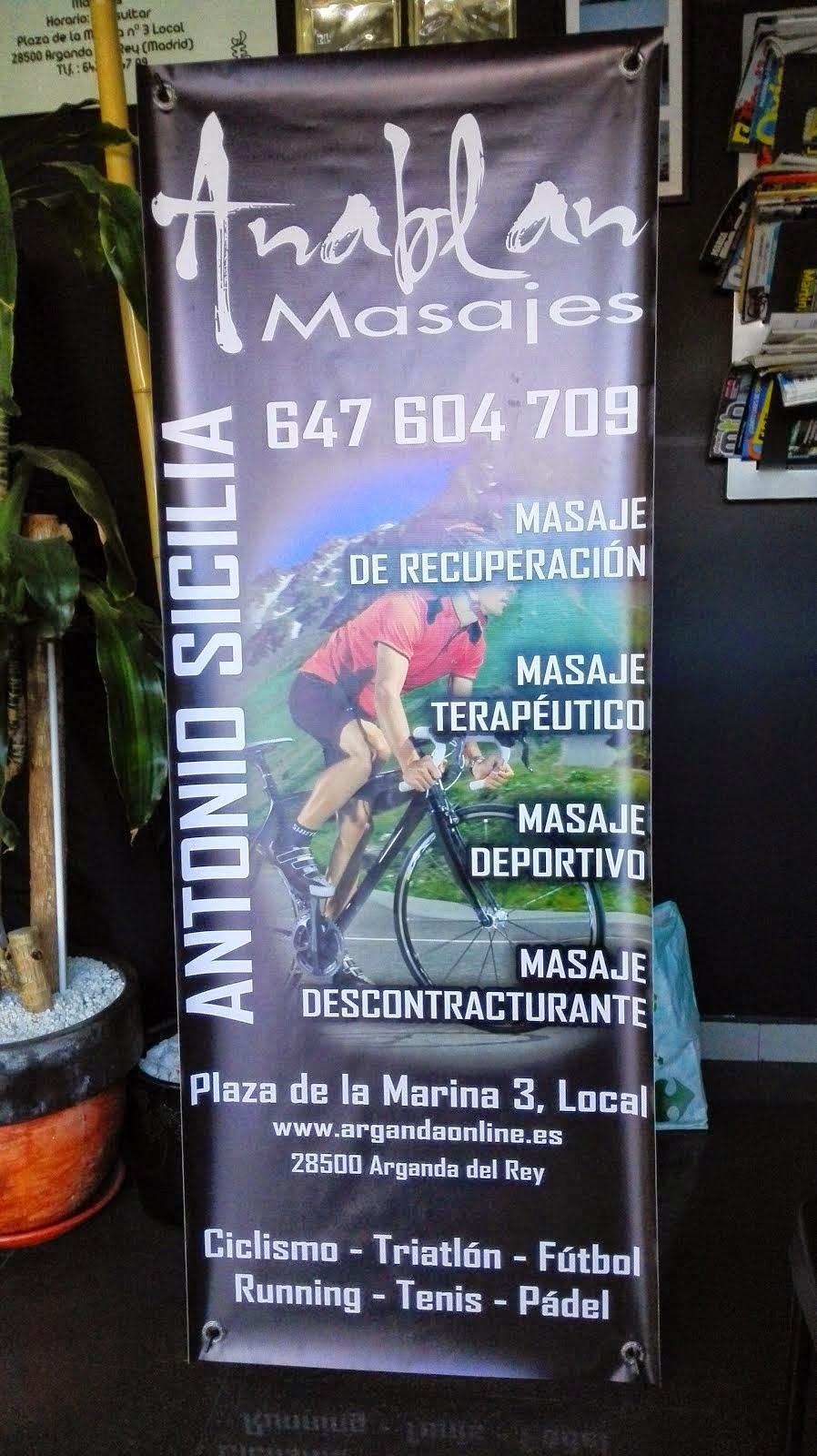 MASAJES PARA COSTALEROS TLF. 647 60 47 09