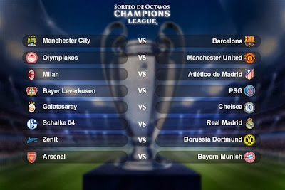 Octavos de Final Champions League 2013 - 2014