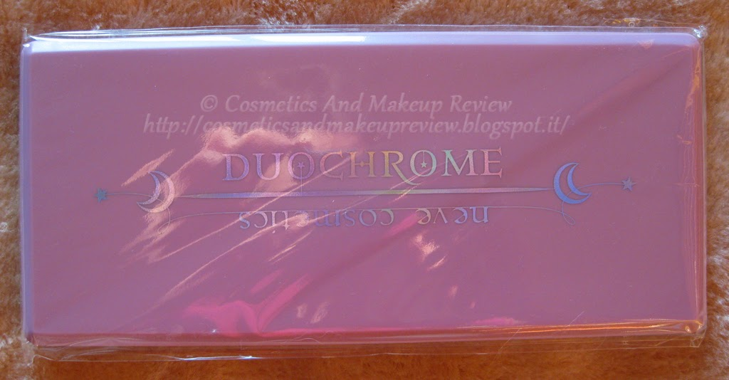 Neve Cosmetics - Palette Duochrome (2014) - packaging