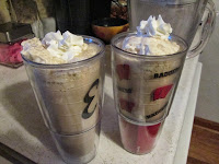 chocolate malts, comfort food, tasty, spending time with mom