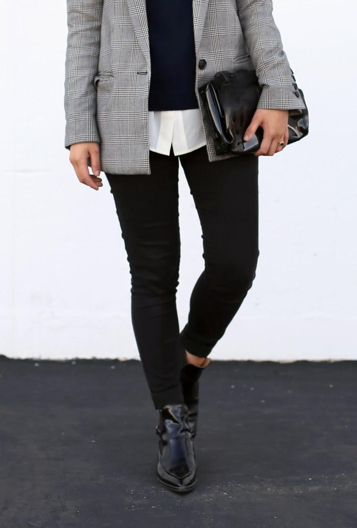 Sweater Under Blazer Blazer Mango | Sweater C/o