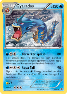 Gyarados Ancient Origins Pokemon Card