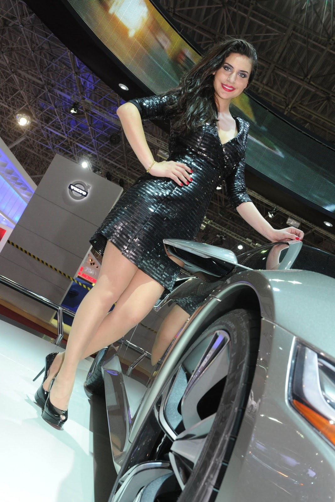 Babes Of 2012 S 227 O Paulo International Motor Show