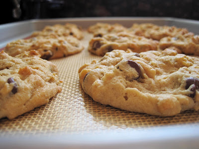 Lemons and Lima Beans: peanut butter-oatmeal chocolate chip cookies