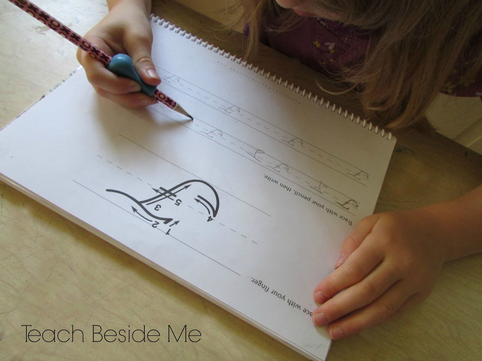 how to teach cursive writing to your child