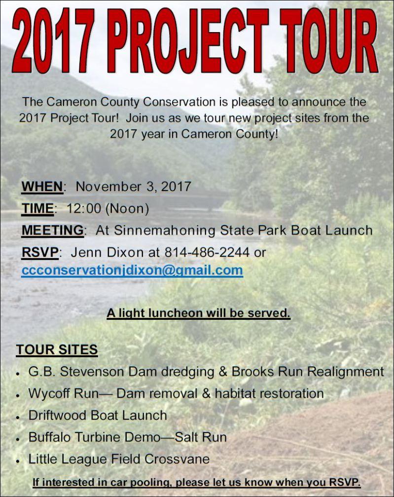 11-3 2017 Project Tour