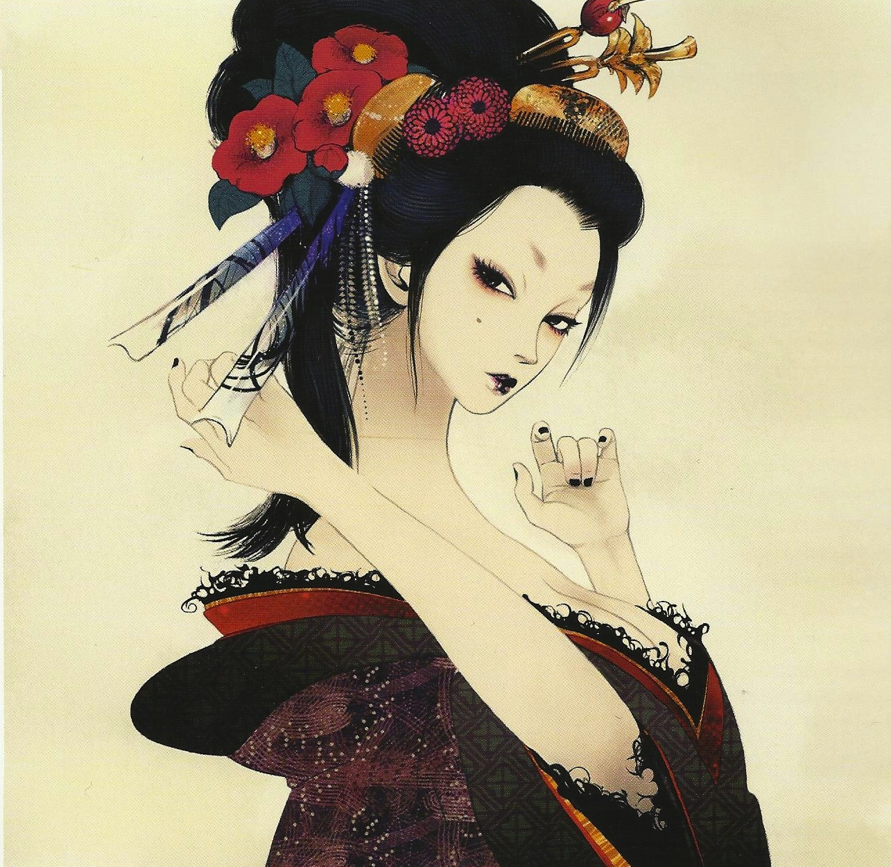 Geisha art érotique