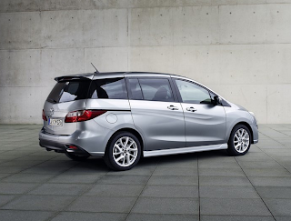 2013 Mazda 5 grey