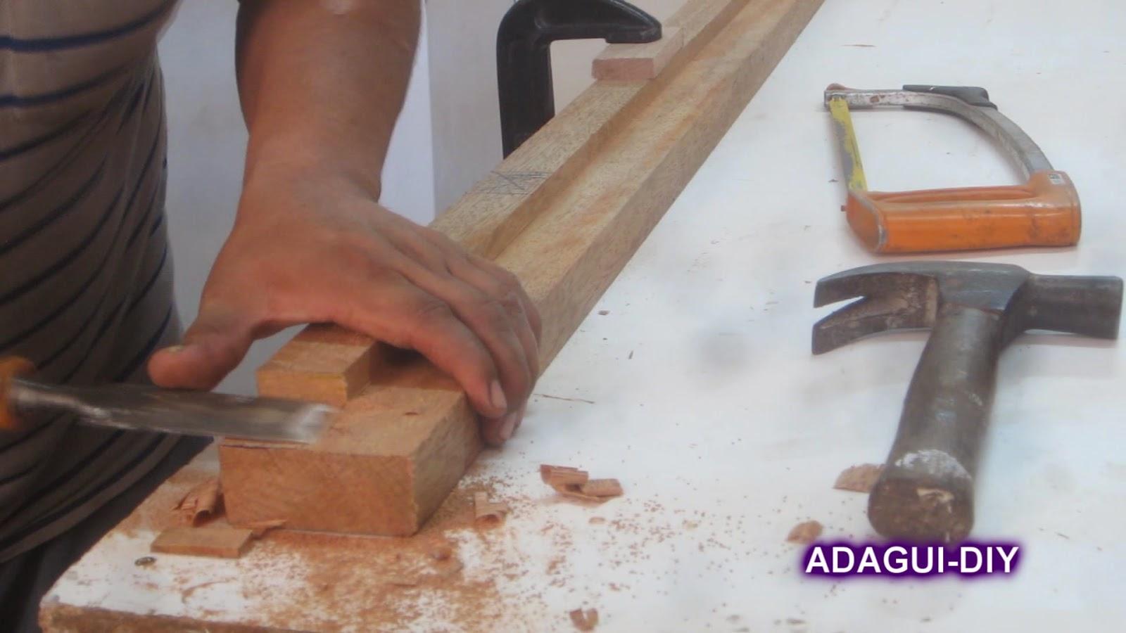 como fabricar marco para puerta contraplacada de