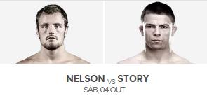 assistir ufc online Nelson vs Story