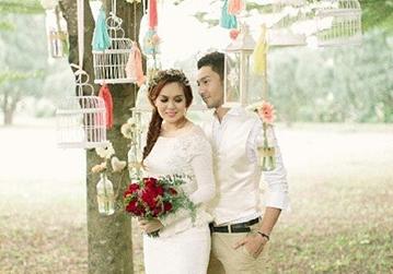 Gambar Pra Perkahwinan Qi Razali dan Nelydia
