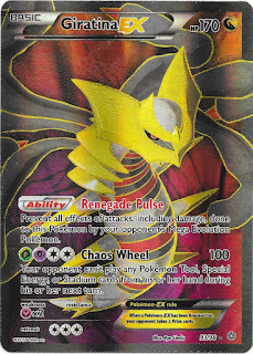 Giratina EX Ancient Origins Pokemon Card