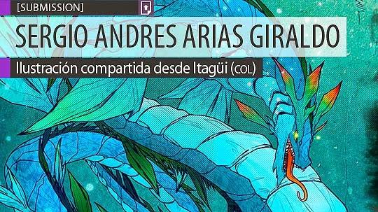 Ilustración. Draoken de SERGIO ANDRES ARIAS GIRALDO