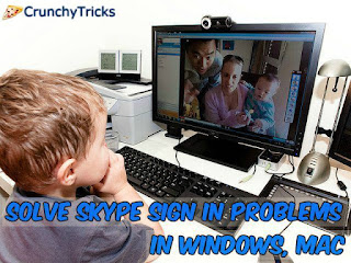 Skype Sign In Problems