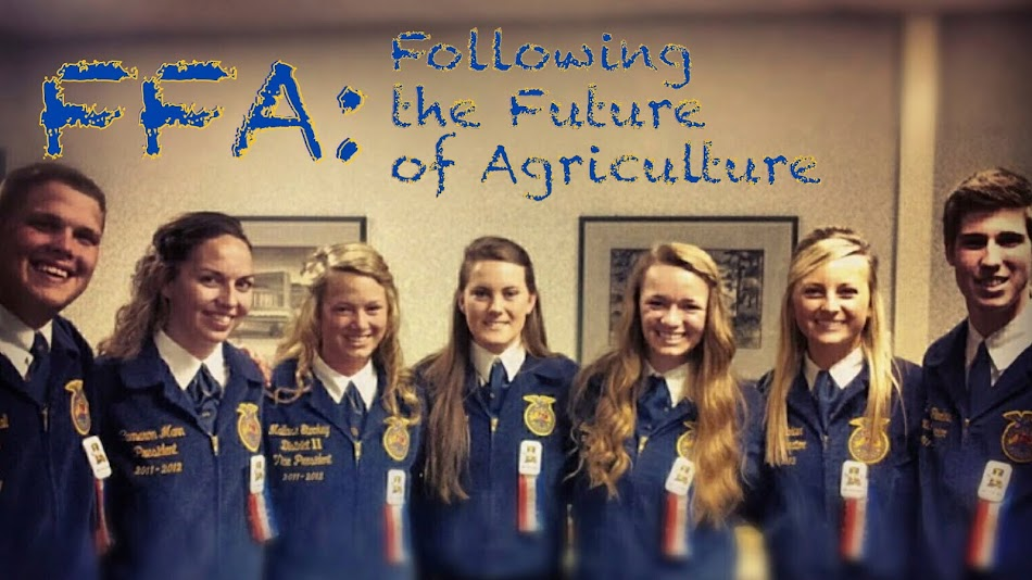 FFA: Following the Future of Agriculture