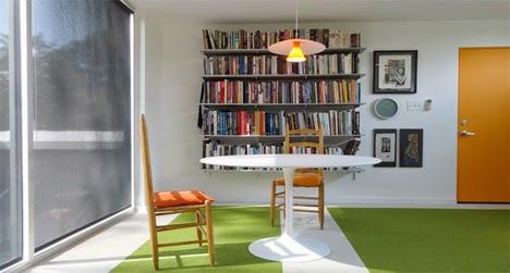 desain ruang kerja eksterior yang lucu dan imut di halaman