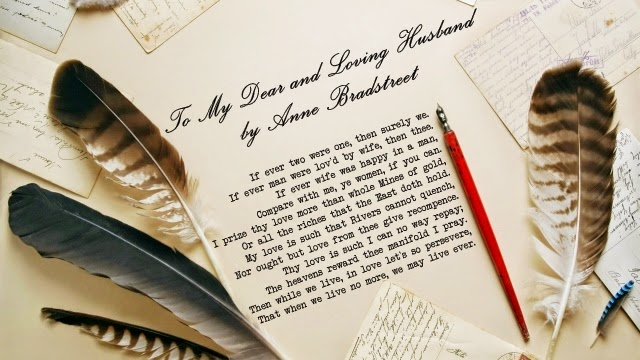 anne bradstreet to my dear and loving husband essay To my dear and loving husband compare and contrast we will write a cheap essay sample on to my dear and loving husband anne bradstreet my dear loving husband.